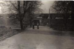 Wiadukt kolejowy przy ulicy Pogodnej w latach 70tych